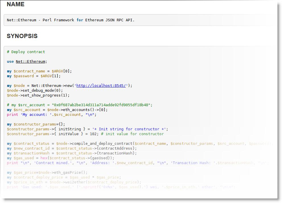 Модуль Net::Ethereum для работы с контрактами Solidity