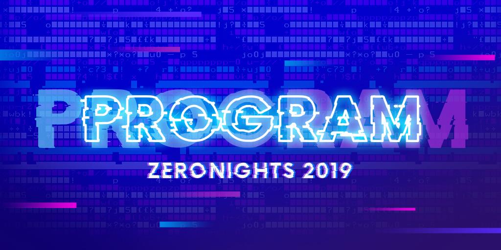 Программа конференции ZeroNights 2019