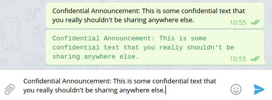 Telegram Desktop, Linux