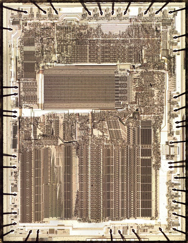 Two bits per transistor: Intel 8087