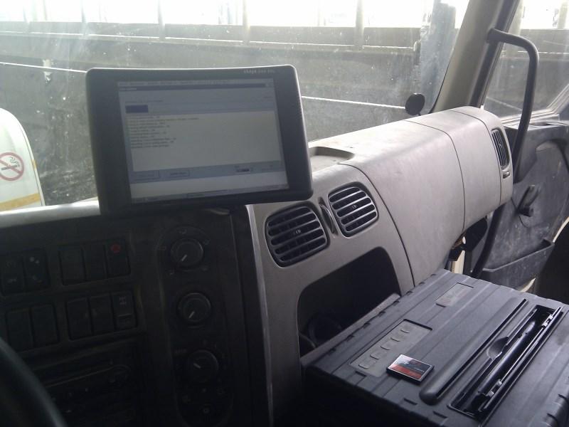 Шпионим за грузовиками
