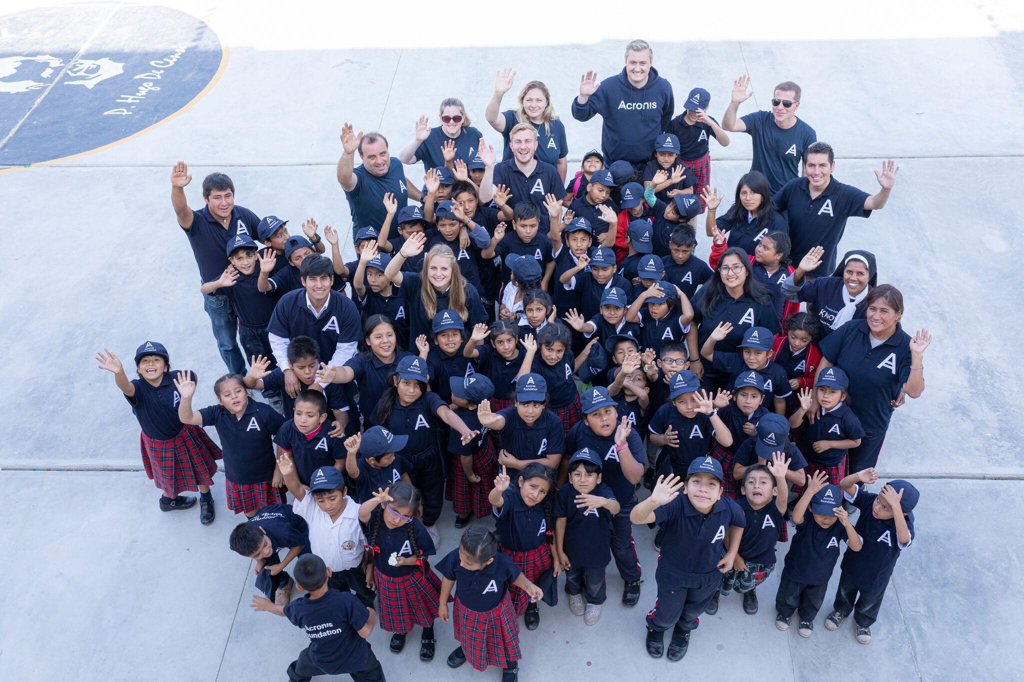 Acronis Foundation: школы построены уже в 8 странах мира. Вы с нами?
