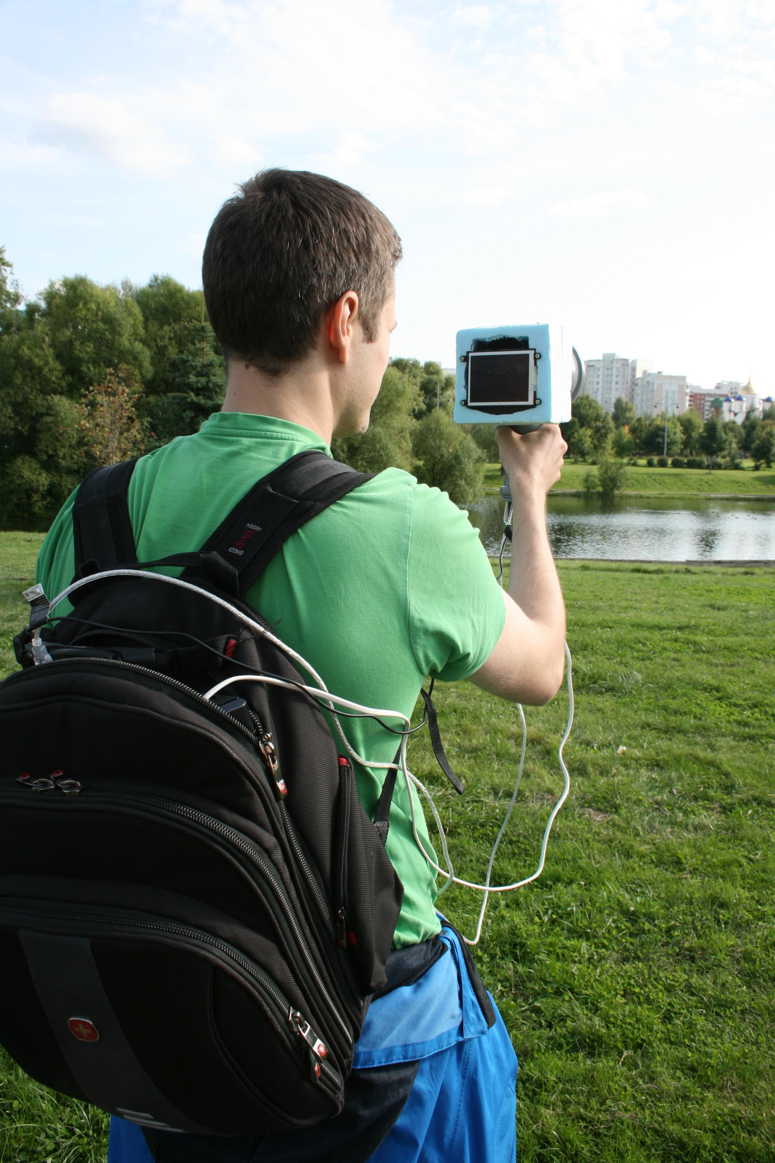 Инфракрасная видеокамера из подручных средств