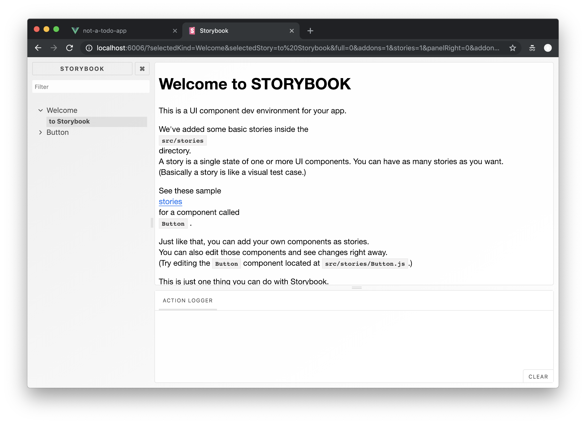 Vue, Storybook, TypeScript—starting a new project with the