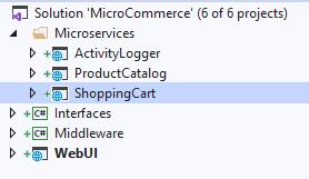 .NET Core Взаимодействие микросервисов через Web api