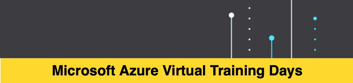 Azure Virtual Training Days  4 крутых мероприятия в сентябре