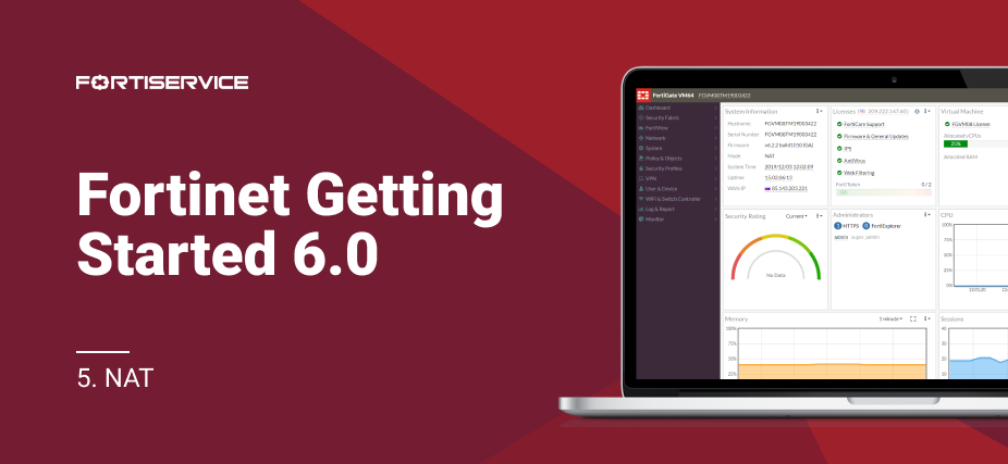 5. Fortinet Getting Started v6.0. NAT