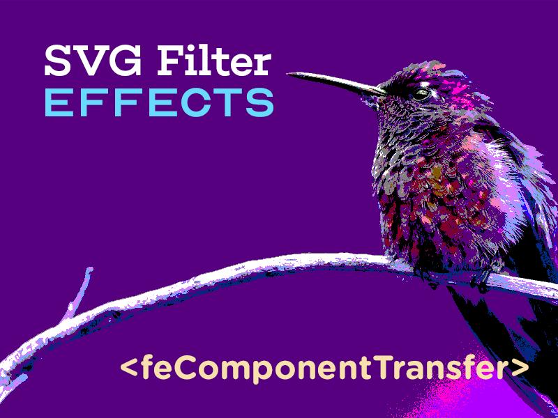 Эффекты фильтрации SVG. Часть 3. Эффект постеризации изображения при помощи feComponentTransfer