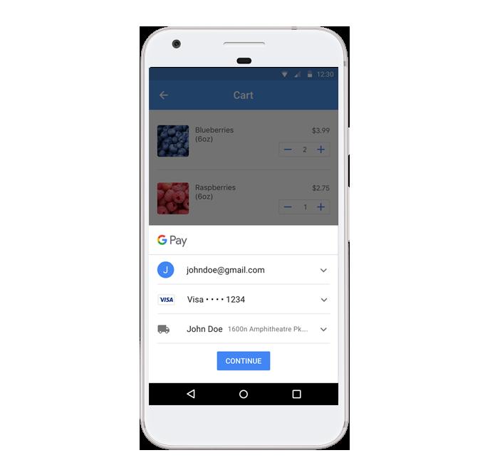 Интеграция Google Pay