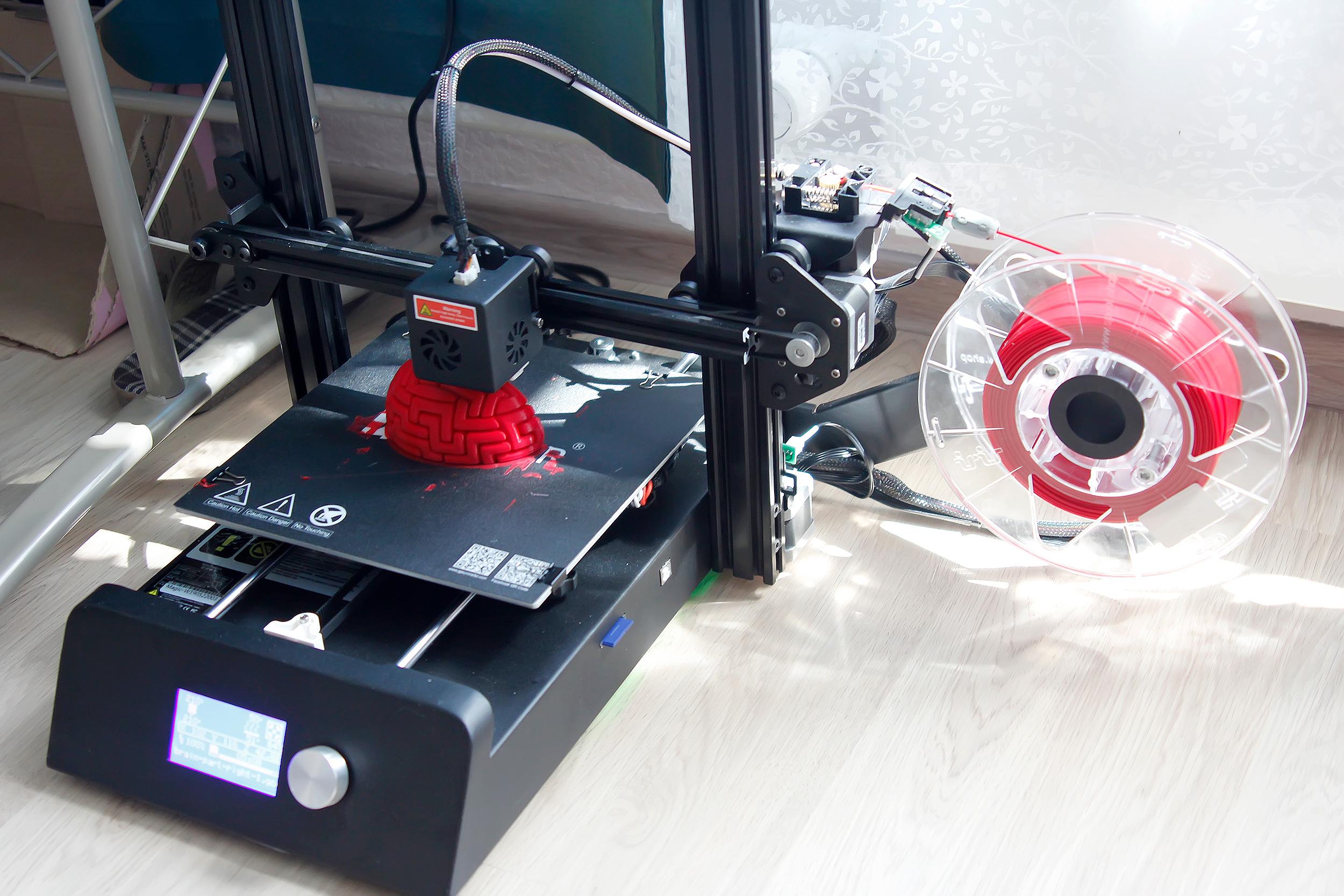 JG Maker  достойная альтернатива недорогим 3D-принтерам для начинающих