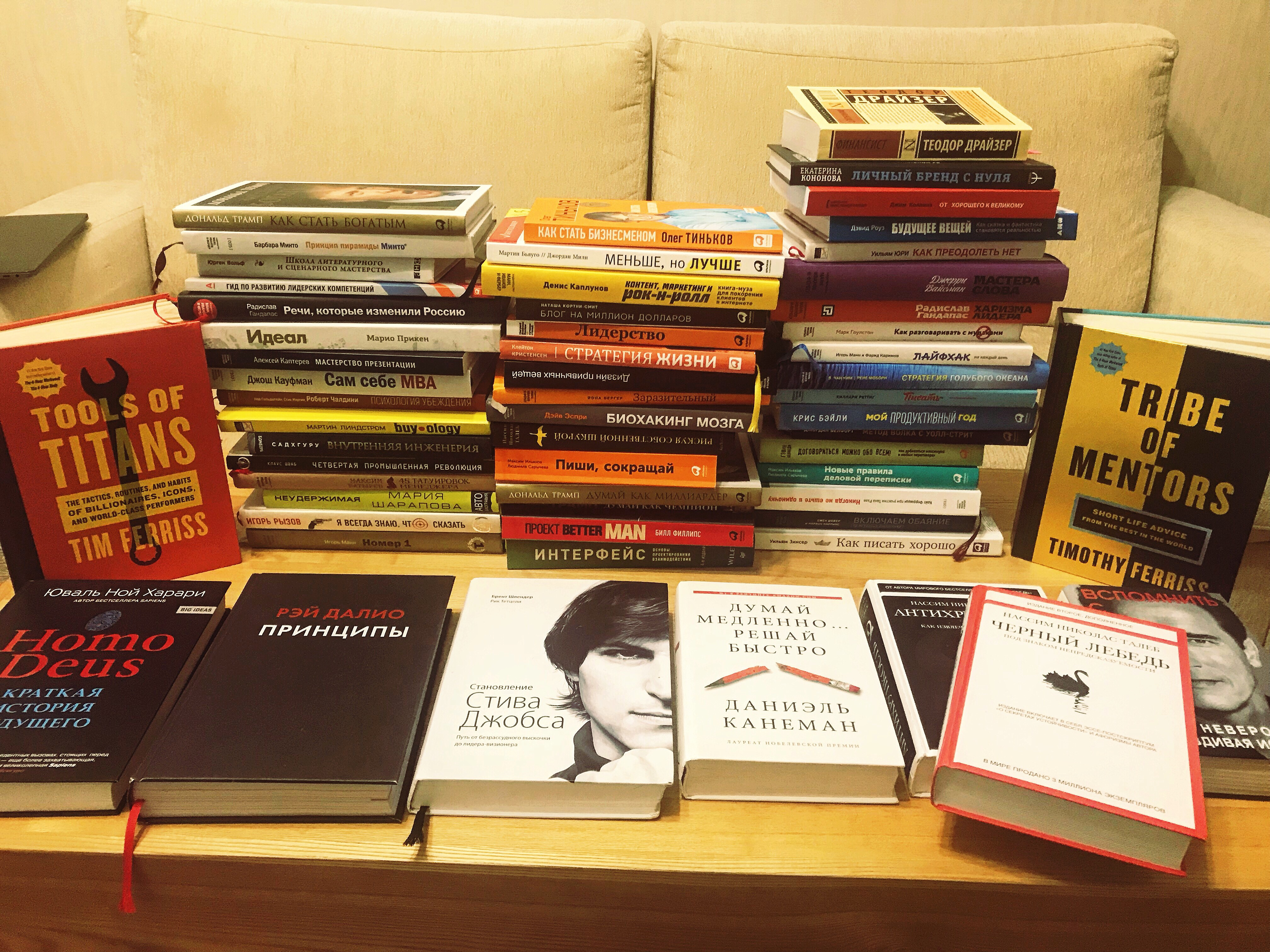 Useful review. 28 books that influenced my thinking, inspired or made better