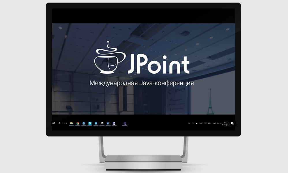 Open free broadcast of the Java conference JPoint 2018