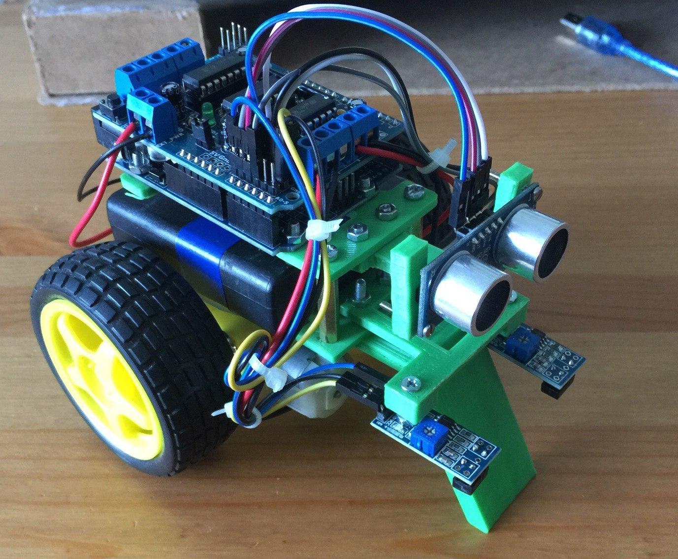 Робот на Arudino