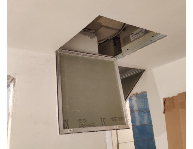 Закрытая потолком система вентиляции