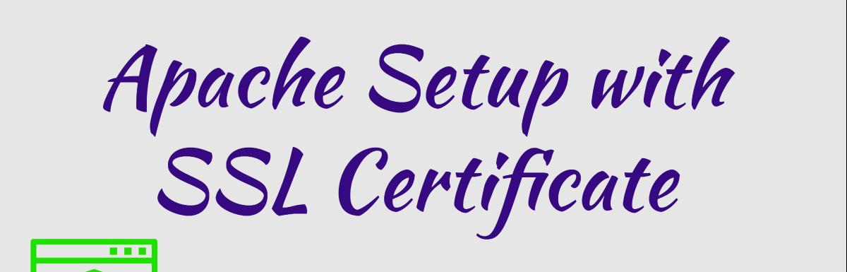 Как настроить Apache HTTP с SSL-сертификатом