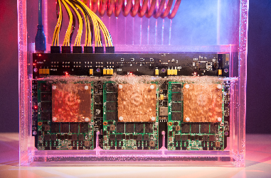 Immersion cooling of high power