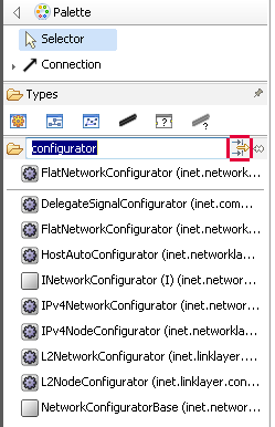 FlatNetworkConfigurator – filter