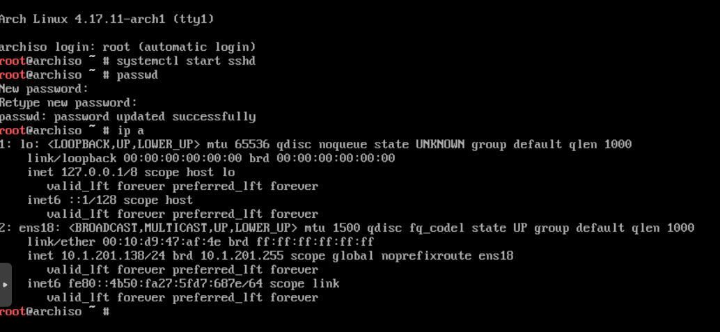 Installing Archlinux with full system and LVM encryption on LUKS