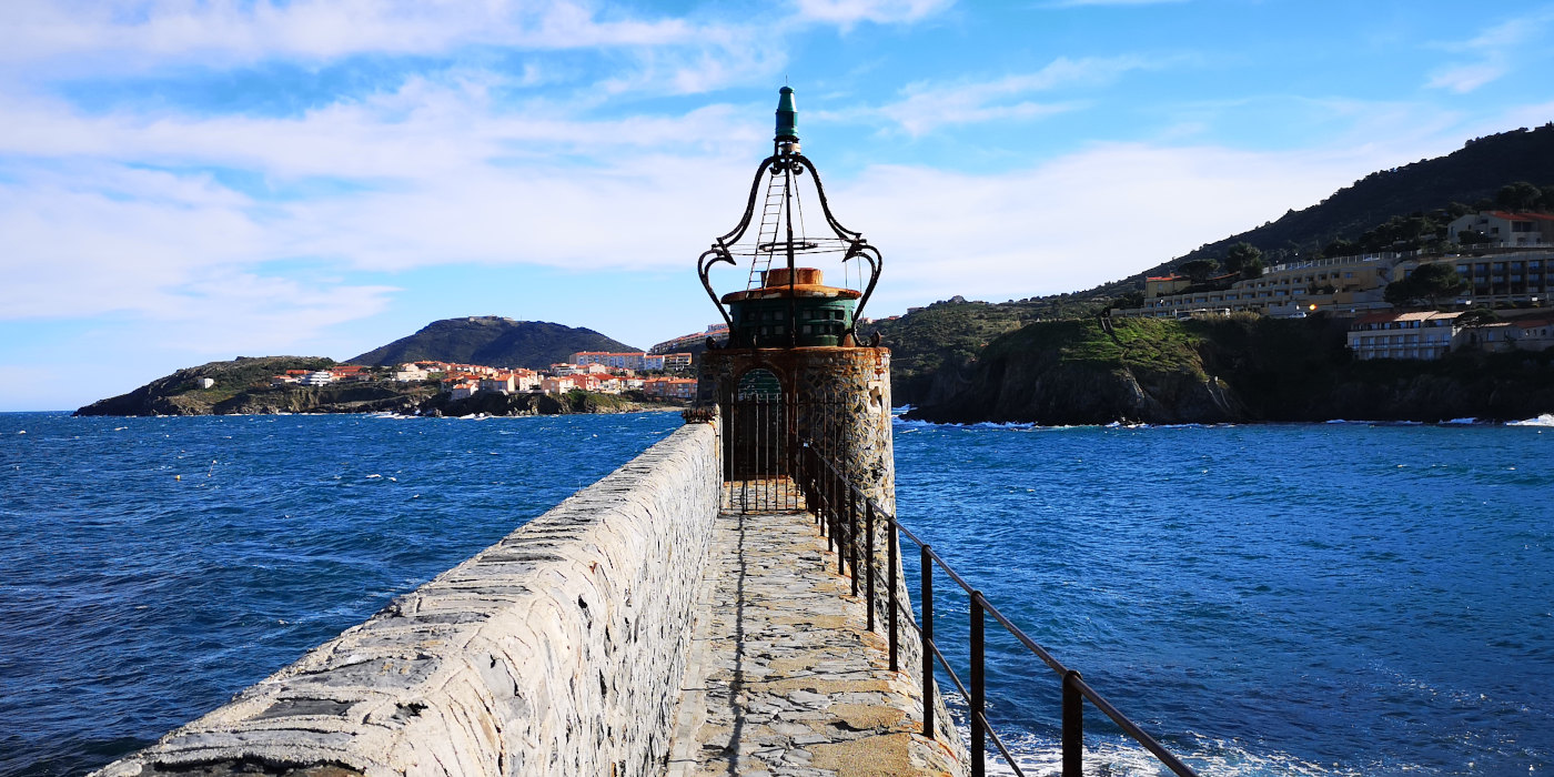 Lighthouse in French Catalonia